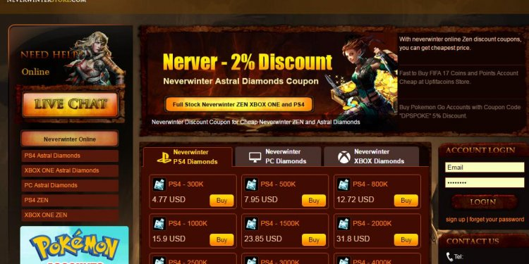 Buy Neverwinter Astral