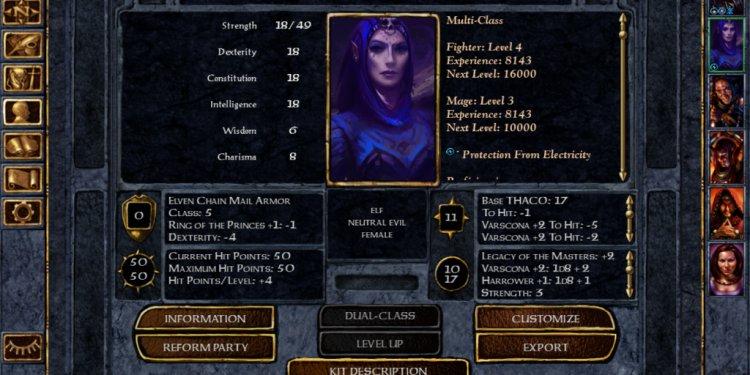 Lisbeth (neutral evil female