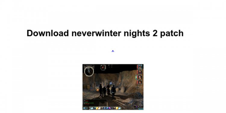 Neverwinter Nights 2 patch download