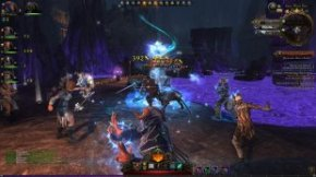 Eat my arcane bolts, vile beast!