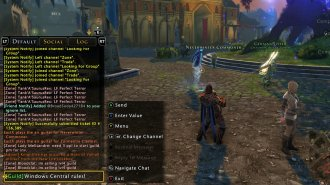 How to chat like a pro in Neverwinter for Xbox One