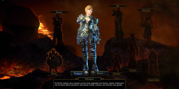 Neverwinter Character Creation