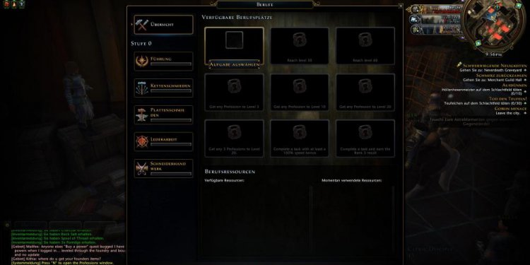 Neverwinter Online crafting