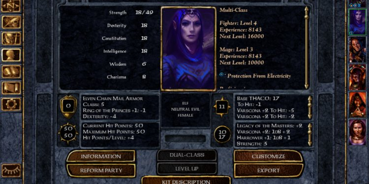 Neverwinter Nights epic character builds