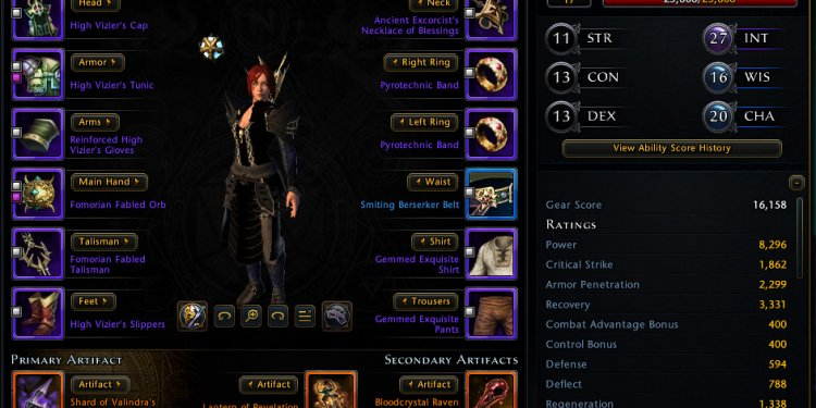 Neverwinter Guardian Fighter PVE Build